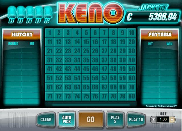 Jackpot keno 50087