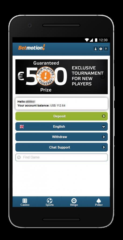 Betmotion mobile betfair dropp 50019