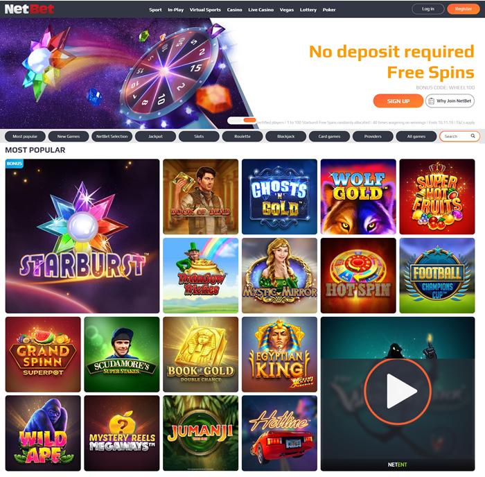 Netbet casino online 64570
