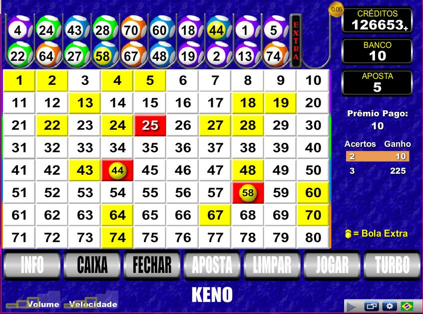Video bingo 38085