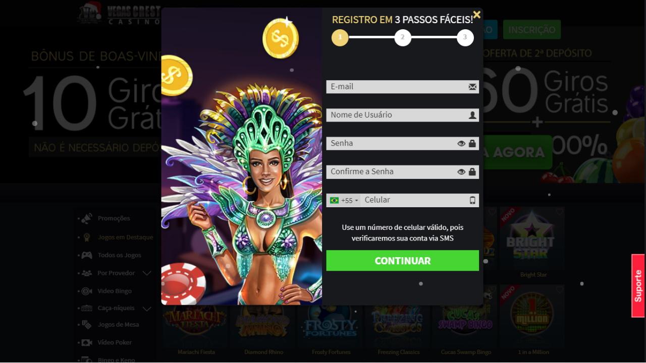 R$25 casino Brasil 54237
