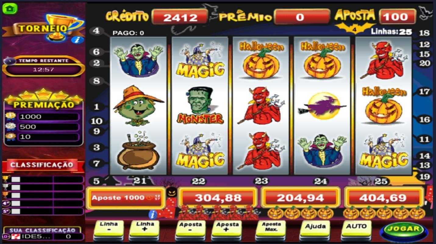 Halloween caça níquel loteria 39793