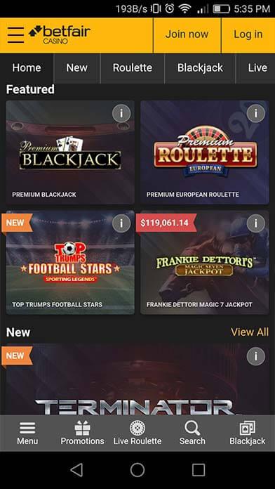 Casinos rabcat Portugal betfair 67190