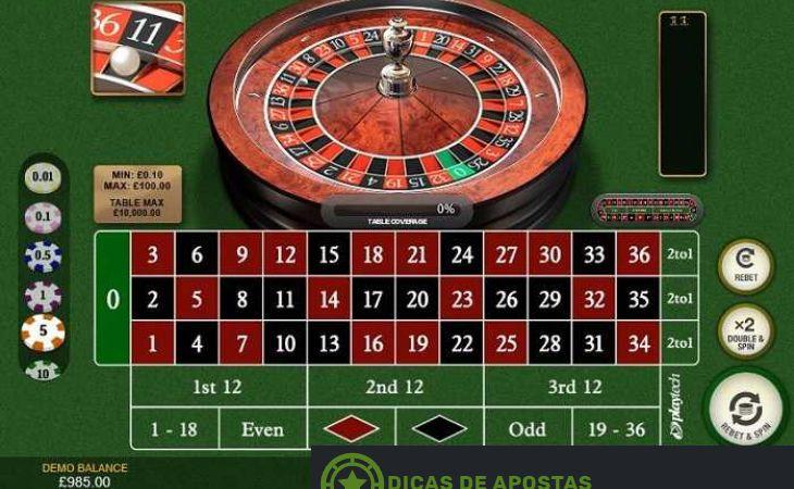 Roleta regras dinheiro 31025