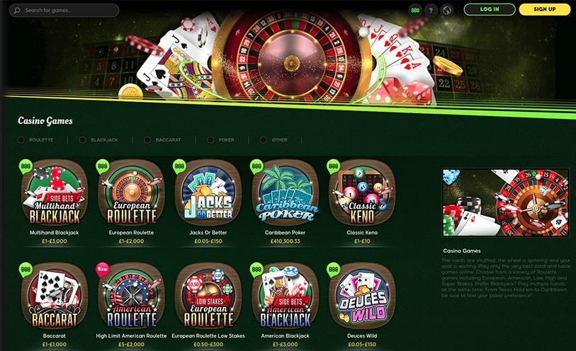 Casinos classificação em 49779