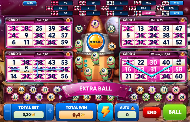 Corsarios vídeo bingo 27444