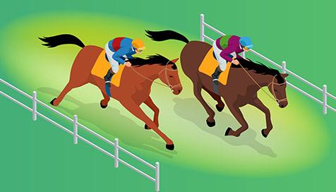 Corridas de cavalos Vera&John 34941