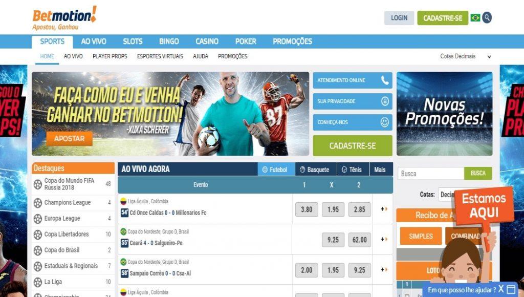 Bet sites bonus betmotion 67355