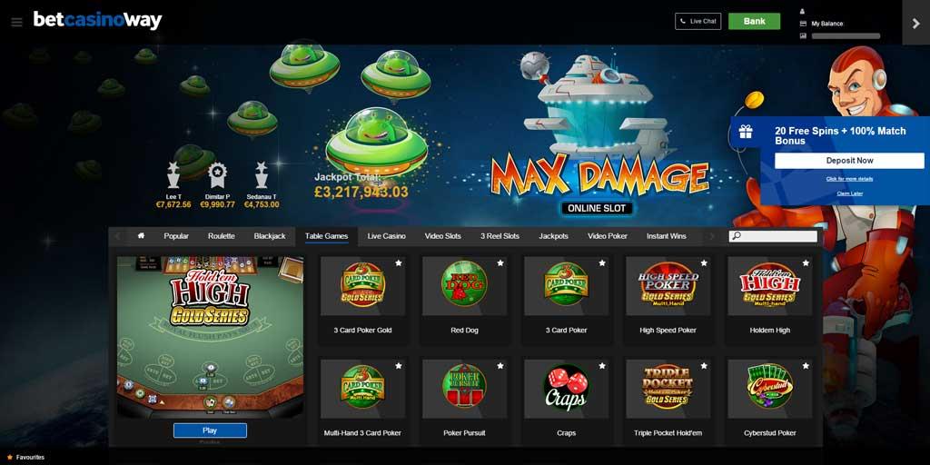 Bet way casino 20521