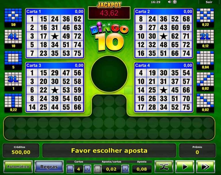 Bingo eletronico 22788