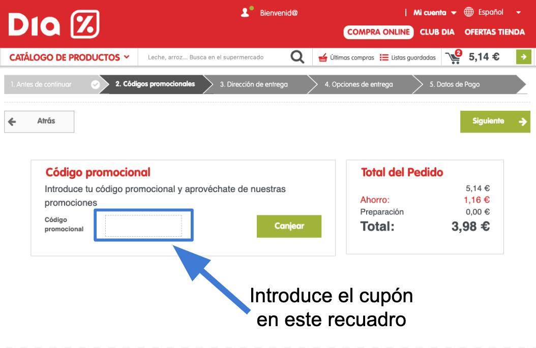 Codigo promocional amazon personalizada 58284