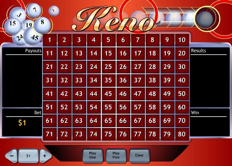 Como jogar keno casinos 36591