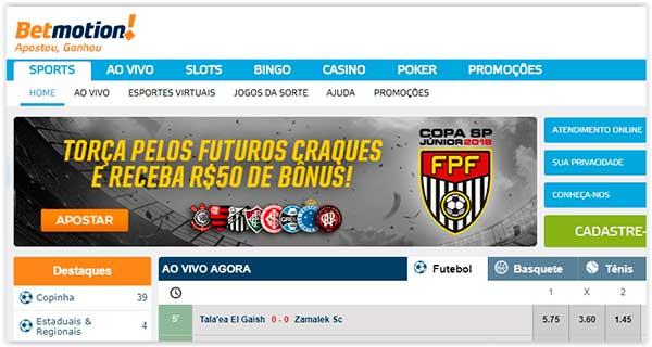 Bingo betmotion online slot 40780