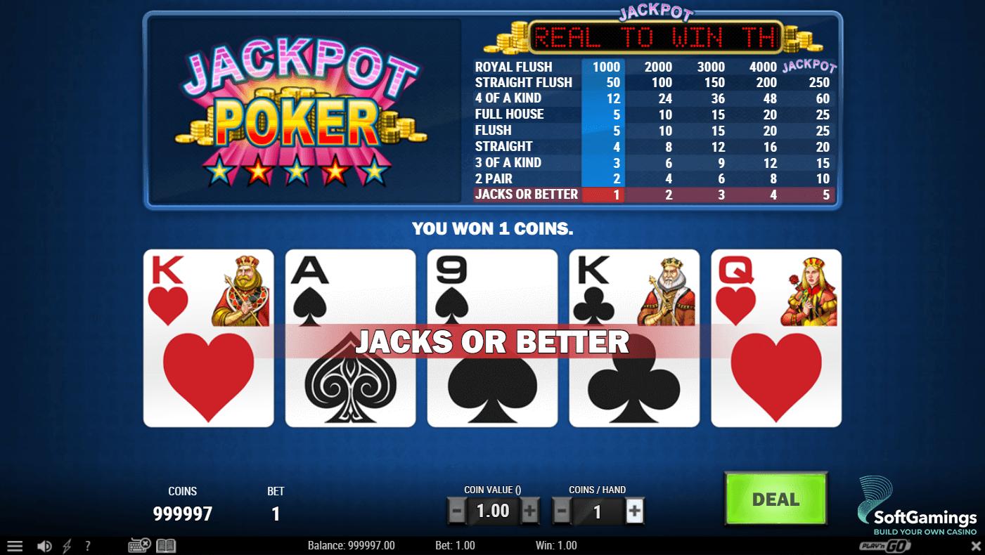 Video poker slots 17298