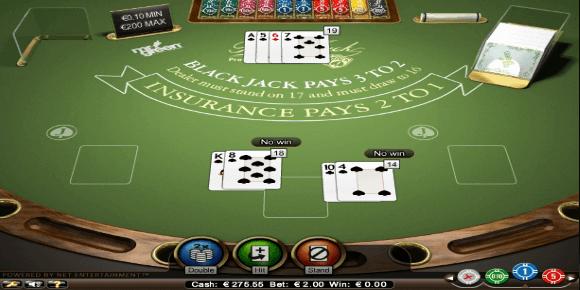 Dúvidas sobre blackjack jogo 18779