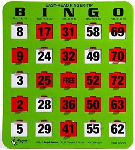 Bingo red card 31175