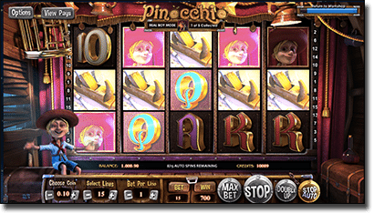 Bumbet poker pinocchio 63707