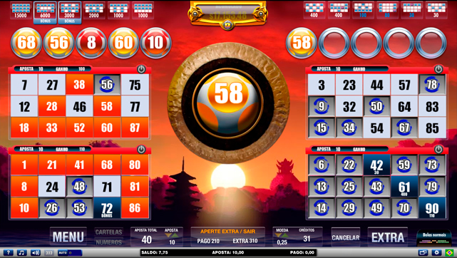 Frases de cassino bingo 57622