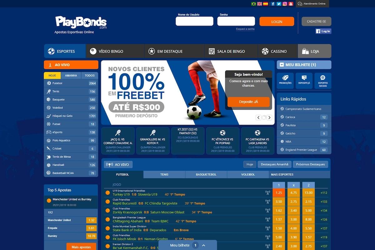 Playbonds online depósito mínimo 60872