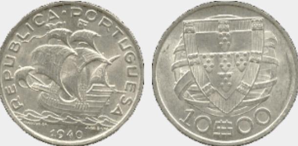Portugal moedas euro 41195