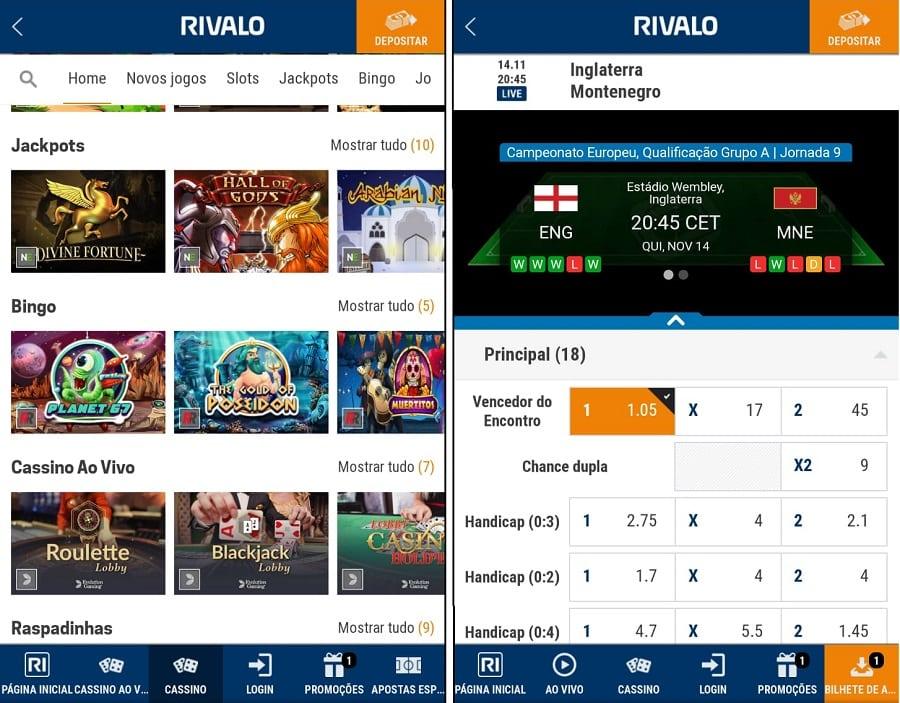 Rivalo app slots 30088