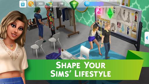The sims mobile Vegas 44215
