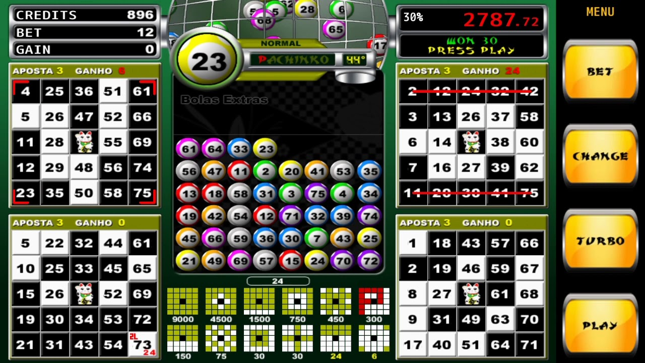 Video bingo pachinko stars 35529